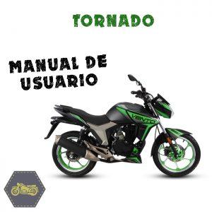 manual de usuario, tornado, vento, refacciones, la tienda del biker