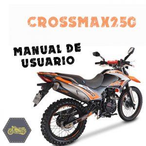 manual de usuario, vento, refacciones, crossmax250, la tienda del biker